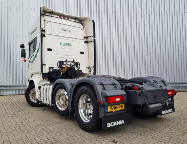 Scania R450 6x2 - Streamline - Liftas, Axle, Liftachse - Special interior TT 4284