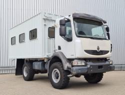 Renault Midlum 240DXI 4x4 -Passagiers, Passenger -Camper -Expeditie- Container TT 4286
