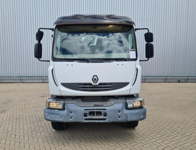 Renault Midlum 280 DXi 4x4 - Hiab 9 TM Kraan, Crane, Kran, Grue TT 4290