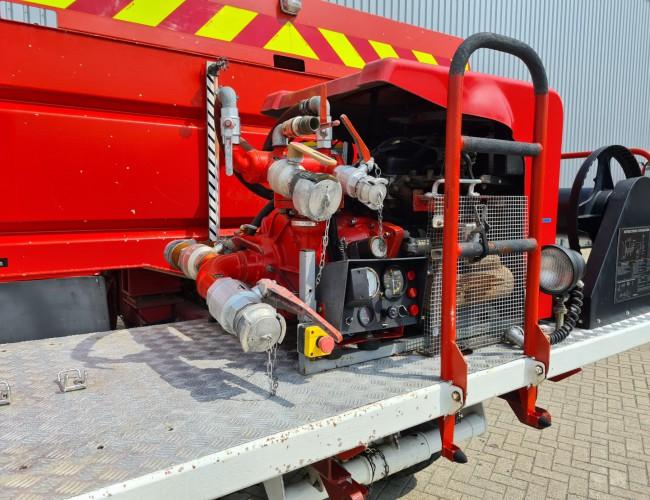 Renault Midliner M210 4x4 -Feuerwehr, Fire brigade - 3.500 ltr watertank - Expeditie, Camper - 5,4 t. Lier, Winch TT 4296