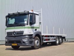 Mercedes-Benz Antos 2540 L 6x2 - Open laadbak, Vlakke vloer, Oprijwagen, Plateau, Machinevervoer TT 4300