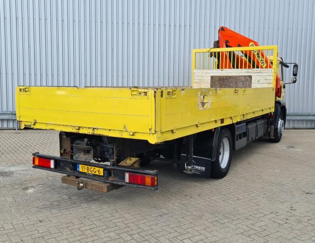 MAN LE 18.220 B Palfinger 18TM Kraan, Crane, Kran, Grue - NL truck! TT 4303