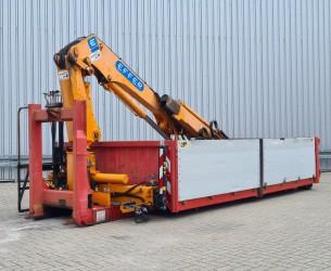 AJK Kleppen - Kraan Container Effer 14TM Kraan, Crane, Kran - Haakarm, Hooklift, Abrolkipper TT 4306