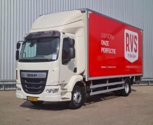 DAF LF 230 FA Laadklep, Ladebord, Loadlift 1.500 kg - Plywood, Schuifzeil, zijborden, NL Truck! TT 4310