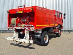 Renault M 210 Midliner 4x4 -Feuerwehr, Fire brigade - 3.500 ltr watertank - Expeditie, Camper - 5,5 t. Lier, Winch TT 4313