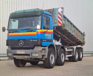 Mercedes-Benz ACTROS 4140 8x4 - Kipper - Manuel - Full Steel - 30t. Containersysteem, Abrollkipper TT 4320